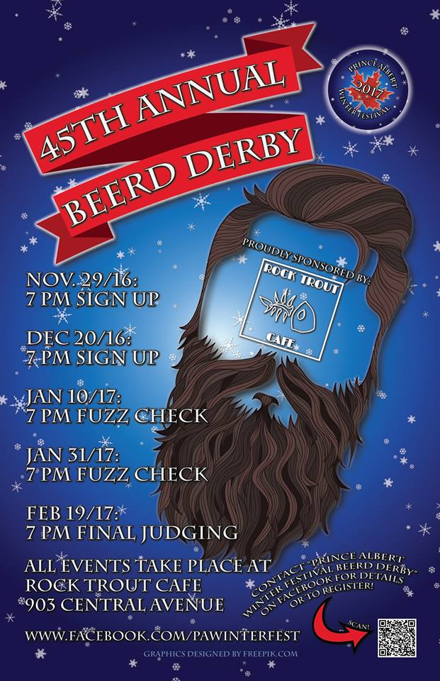 2017 45th Annual Beerd Derby Prince Albert Winter Festival
